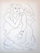Henri Matisse Lithograph Drawing / Dessins E10 Limited First Edition 1943 Rare
