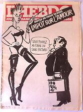"Hara Kiri hebdo N°17 du 11/11/1981; ""journal dangereux pour la jeunesse"""