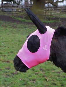 Donkey Pull On Fly Mask With Ears
