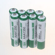 8 PCS BTY 1.2V AAA 3A 1350mAh NiMH Rechargeable Battery
