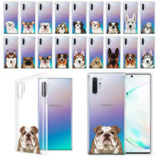 "For Samsung Galaxy Note 10+/10 Plus 6.8"" 2019 Animal Design Clear Tpu Case Cover"