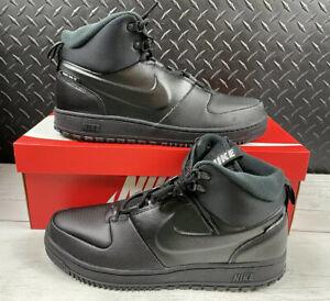 Nike Path Winter Size 11 Men's Sneaker Boot Shoe-Black on black [BQ4223-001]
