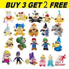 Super Mario Bros Koopa Yoshi Luigi Larry Stuffed Animal Plush Xmas Bedtime Gift