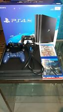 Sony PlayStation 4 Pro 1TB Jet Black with games