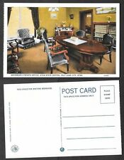 Old Utah Postcard - Salt Lake City - Governor's Private Office