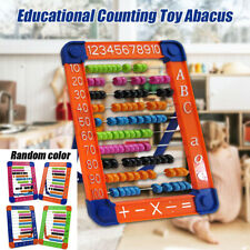 100 Beads Abacus Preschool Counting Learning Mathematics Educational Kids Toy