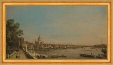 Thames from the Terrace of Somerset House Canal England Kathedrale B A3 02092