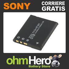 Batteria Alta Qualità per Sony Cyber-shot DSC-W530