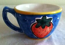 DONACER (6) HAND PAINTED PORTUGAL CUPS