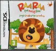 RAA RAA: THE NOISY LION GAME DS DSi Lite 3DS (raaraa) ~ NEW / SEALED