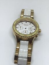 DKNY Watch Bracelet Jewelry No Movement Doesn't Work Parts Band 20mm A459