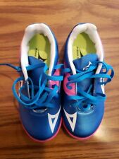 Pirma KIDS Indoor Soccer Shoes-Style 181-Blue/Pink-Supreme Mamba 12