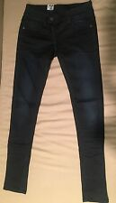 G-Star Original RAW Midge Skinny Dark Blue Denim Trouser Pants Size W29 L32
