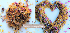 Natural Dried Petal Biodegradable Wedding Confetti Vintage Summer Rainbow 1L