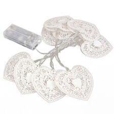 HU 10 LED de coeur d'amour de fee bande de lumiere Chambre Decor de mariage fete