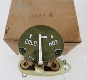1950 Nash NOS Autolite Temperature Gauge