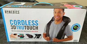 HoMedics Cordless 3D Tru Touch Neck & Shoulder Massager with Heat