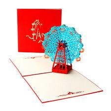 Ferris Wheel Pop Up Card 3D Card Popup Greeting Cards Birthday Anniversary