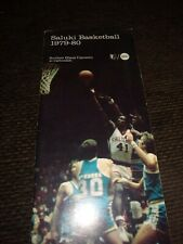 1979-80 southern Illinois Saluki basketball Media Guide