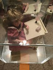 Linda Mason *Reflections Of Rose* 14 Inch Porcelain Doll in glass case