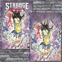 🔥 Strange Academy #4 Exclusive Peach Momoko Trade + Virgin Variant Set NM!