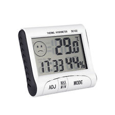 LCD Mini Digital Thermometer Humidity Meter Room Temperature Indoor Hygrometer