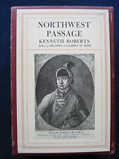 NORTHWEST PASSAGE - SIGNED by KENNETH ROBERTS 2 Vol. Numbered Ltd. Ed. Set