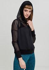 Urban Classics Jersey Women's Sweatshirt Hooded Mesh Light