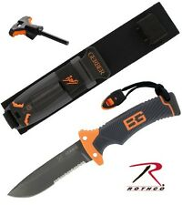 "Rothco 3201 Gerber Bear Grylls 10"" Stainless Steel Ultimate Survival Knife"