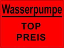 WASSERPUMPE OPEL ASTRA F - NUR 1.6i mit 52 + 55 KW #330863