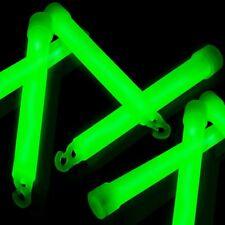 5 x GREEN GLOW STICK GLOW STICKS UV NIGHT PARTY FESTIVALS CAMPING HEN & STAG UK