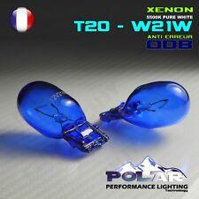 KIT 2 AMPOULE XENON T20 W21W  BLANC FEUX DE JOUR ANTI ERREUR ODB FIAT PUNTO EVO