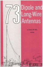 73 Dipole and Long Wire Antennas * Ham Radio * CDROM * PDF * KE3GK