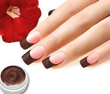 UV Farbgel Nr.02 BC-Braun 5ml Colorgel, Top Studioqualität von BC-Top-Nails