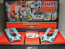 Slot racing Team GULF 24H Le Mans 1970 Porsche 917 K 1/32