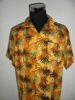 vintage deL Bondi Hawaii Hemd shirt surf surfer 80s oldschool aus Viskose XL