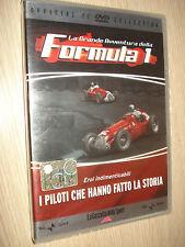 DVD N°8 LA GRANDE AVVENTURA DELLA FORMULA 1 F1 PILOTI CHE HANNO FATTO LA STORIA