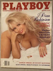 May 1993 Playboy Dian Parkinson Nude VG+ Centerfold Susie Owens Giorgio Armani