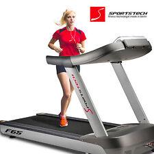 """Sportstech F65 Profi Laufband 1600x600mm MP3 USB 7"""" LCD-Display 25km/h 8,5PS"""