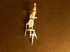 Vintage Bovine Bone Miniature Collectible Spinning Wheel Germany