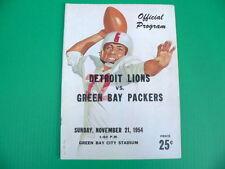 Green Bay Packers Original Vintage NFL Programs