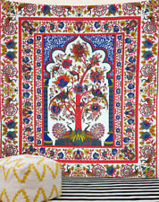 Multicolor Bohemian Tree Of Life Tapestry Wall Hanging Cotton Wall Room decor