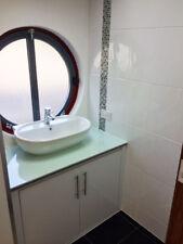 Ceramic White Bumpy Gloss Matt Flat Tiles Bathroom & Kitchen Cut 10x10cm Samples
