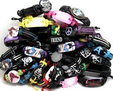 30pcs Multi-Styles Mix Men Women Fashion Leather Bracelets Wristbands Wholesale
