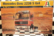 Italeri 0757 Mercedes Benz 2238S 6x4 Truck  1:24 Plastic Model Kit #757