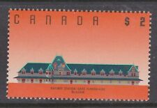 CANADA NO 1182, ARCHITECTURE: McADAM RAILWAY STATION, NEW BRUNSWICK,  MINT NH