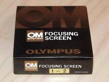 OLYMPUS OM FOCUSING SCREEN 1-2 NEW IN BOX