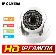 720P HD IR-CUT Night Vision LED Indoor ONVIF 1MP Security IP Dome Camera