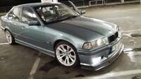 BMW E36 3 ser 91-99 Front bumper spoiler for M3 front bumper GTR look chin lip