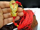Chinese Asian Year of the Rooster Zodiac Sign Feng Shui Lucky Tassel Charm Coin